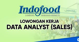 lowongan kerja data analyst indofood jakarta