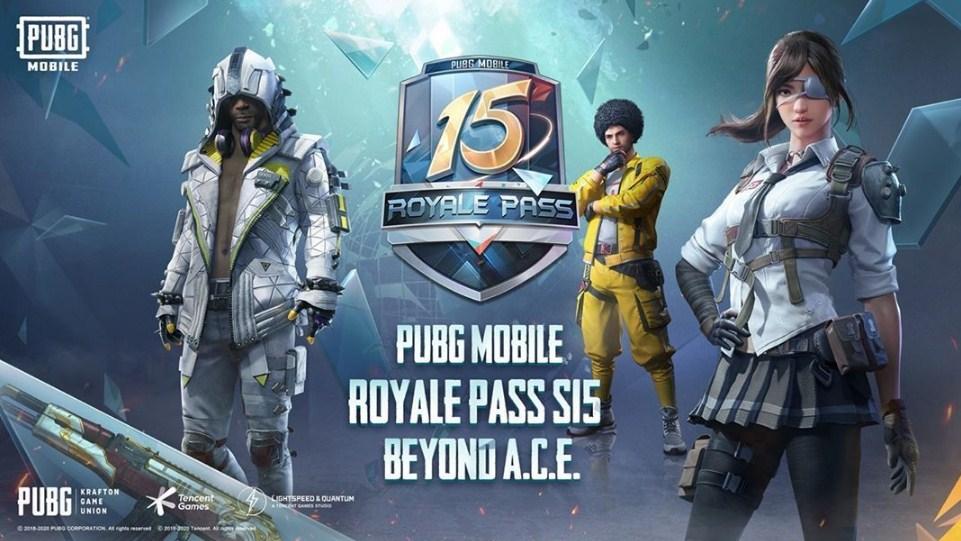 pubg mobile season 15 royale pass beyond ACE