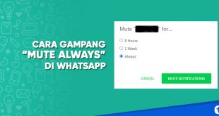 cara mute always di whatsapp