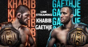 cara streaming pertandingan ufc khabib vs gaethje