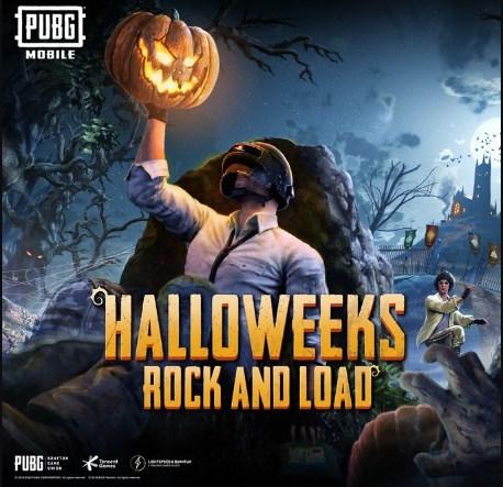 halloweeks pubg mobile mode
