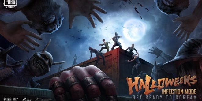 infection mode halloween pubg mobile