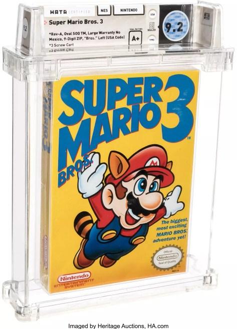 kaset game Super Mario Bros 3