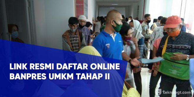 Link resmi Daftar Online banpres umkm tahap 2