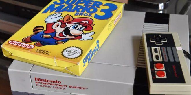 Super Mario Bros 3 Lelang Mahal