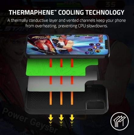 Thermalphene Technology Razer Arctech Case