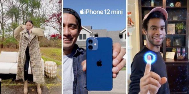 apple promosikan iphone 12 mini di tiktok