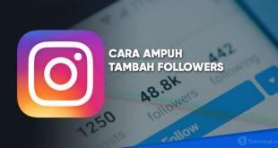 cara cepat menambah followers ig