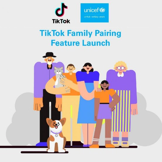 fitur tiktok family pairing
