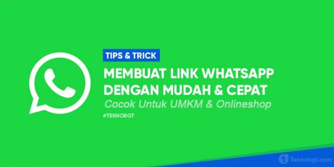 cara membuat link whatsapp untuk onlineshop