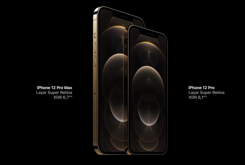 layar iphone 12 pro max