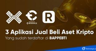 3 aplikasi jual beli aset kripto terbaik