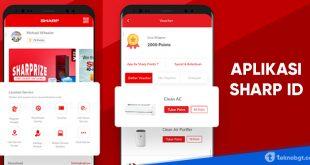 Aplikasi SHARP ID Untuk daftar garansi produk