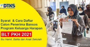 Cara daftar blt pkh 2021 ibu hamil