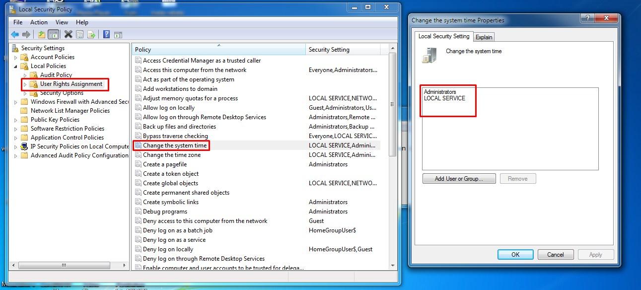 Cara mengunci jam di windows 7 agar tidak berubah