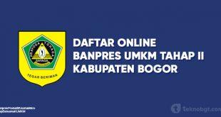 Daftar Online Banpres UMKM Bogor