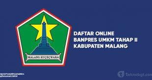 Daftar Online Banpres UMKM Tahap II Malang