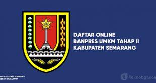 Daftar Online Banpres UMKM Tahap II Semarang