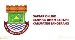 Daftar Online Banpres UMKM Tahap II Tangerang