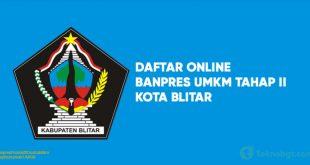 Daftar Online Banpres UMKM Tahap II blitar