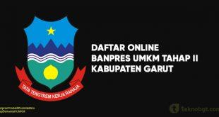Daftar Online Banpres UMKM Tahap II garut