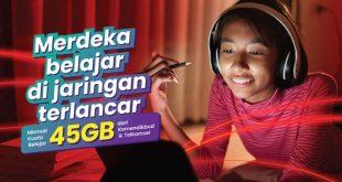 Kuota internet belajar telkomsel dari Kemendikbud