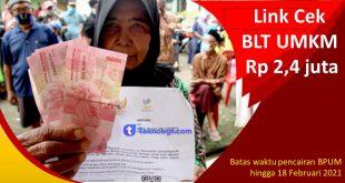 Link Cek BLT UMKM Rp 2,4 juta