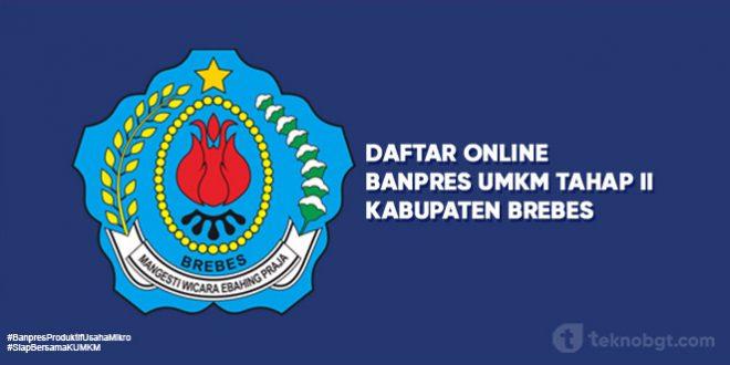 Link Daftar Online Banpres UMKM Tahap II Brebes