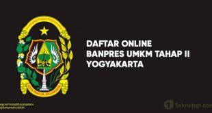 Link Daftar Online Banpres UMKM Tahap II Yogyakarta