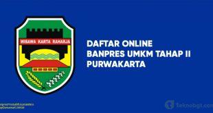 Link Daftar Online Banpres UMKM Tahap II purwakarta