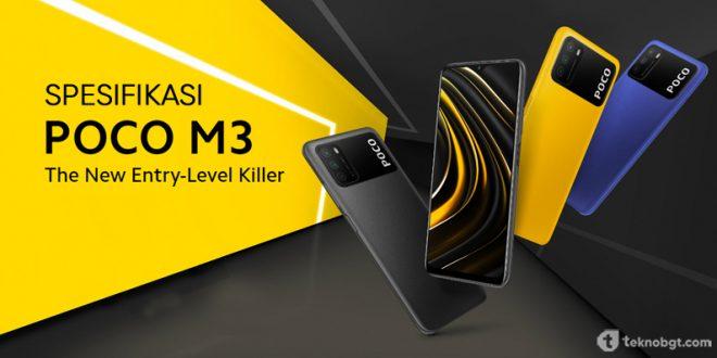 Spesifikasi smartphone Poco M3 2021