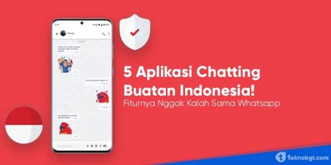 aplikasi buatan indonesia mirip wa