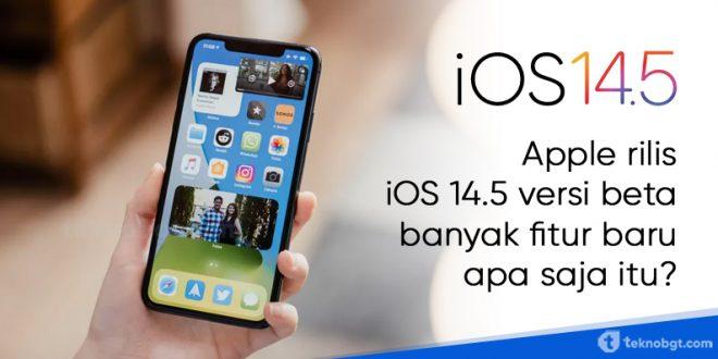 apple rilis ios 14-5 terbaru
