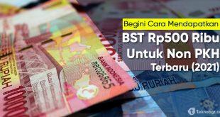 bansos tunai non pkh Rp 500 ribu