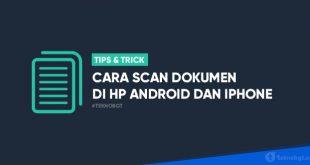 cara scan dokumen dan foto di Hp Android iPhone ke PDF
