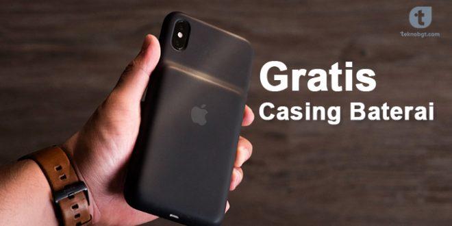 casing baterai iphone gratis