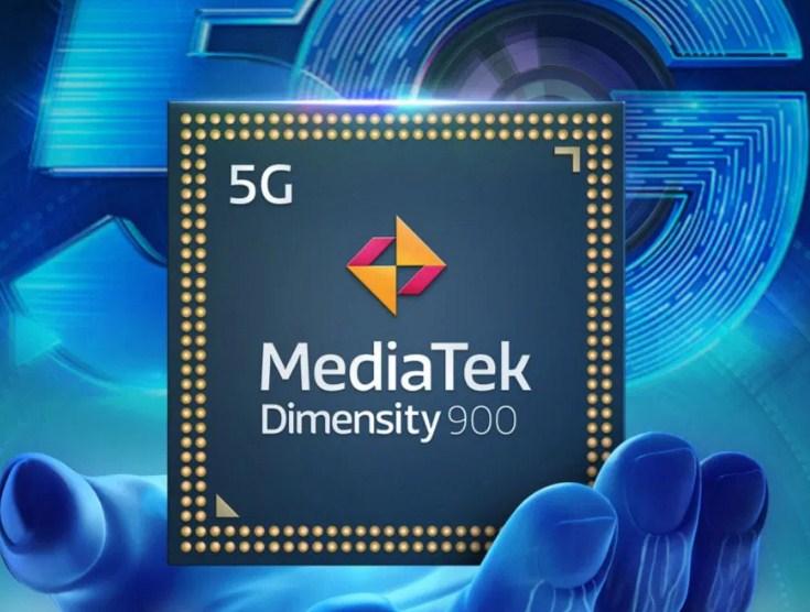 chipset 5G mediatek dimensity 900