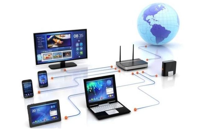 contoh jaringan komputer sederhana