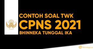 contoh soal twk cpns 2021 bhinneka tunggal ika