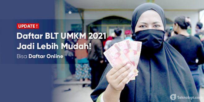 daftar online blt umkm tahap 2 tahun 2021