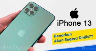 iphone 13 akan segera rilis