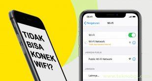 iphone tidak bisa connect wifi