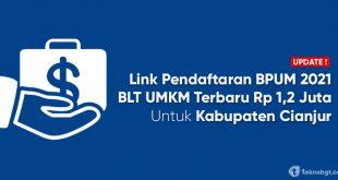 link daftar online blt umkm cianjur