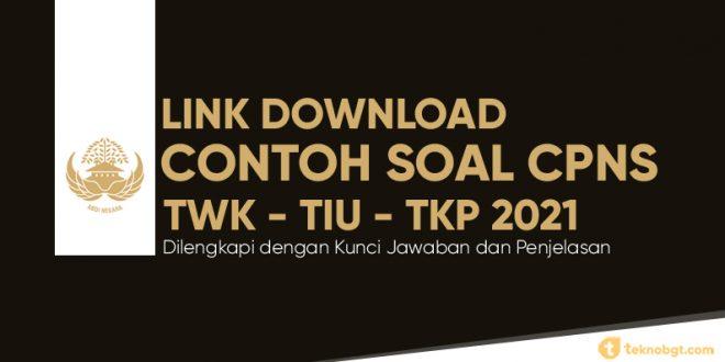 Link Download Contoh Soal Tes Cpns Pdf Beserta Kunci Jawaban Dan Pembahasan Untuk Twk Tiu Dan Tkp Tekno Banget