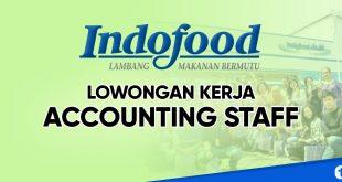 lowongan kerja accounting staff indofood group