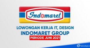 lowongan kerja karir di indomaret group 2021