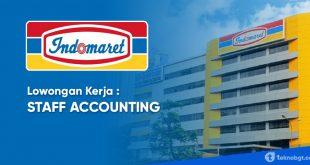lowongan kerja staff accounting indomaret group