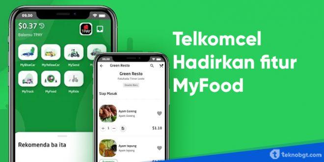 myfood dari telkomcel di aplikasi mytimor