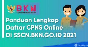 panduan lengkap cara daftar cpns 2021 secara online