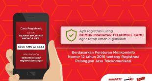 registrasi kartu telkomsel prabayar